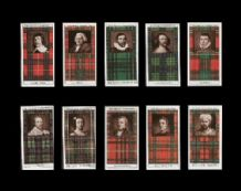 Tobacco cards Cigarette cards Clan Tartans 1927